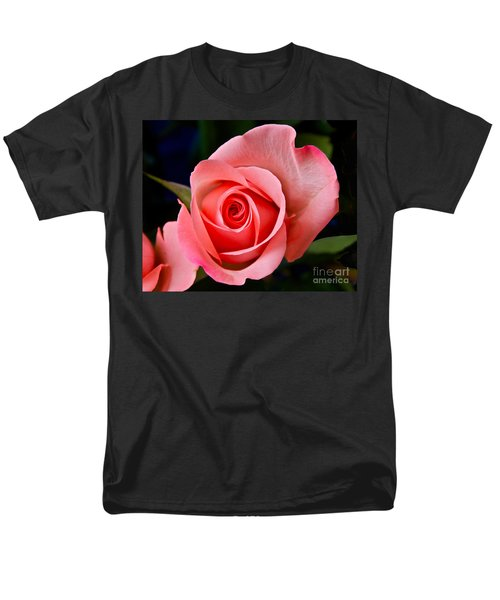 Men's T-Shirt  (Regular Fit) featuring the photograph A Loving Rose by Sean Griffin