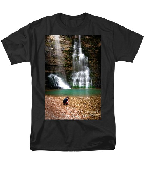 Men's T-Shirt  (Regular Fit) featuring the photograph A Moment In Time by Tamyra Ayles
