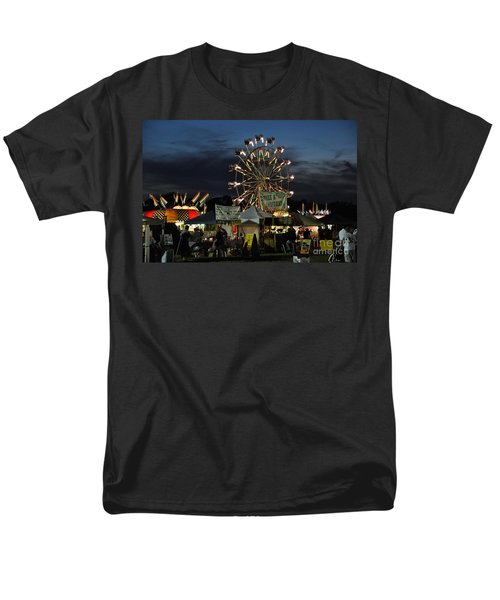 Men's T-Shirt  (Regular Fit) featuring the photograph A Night At The Fair by John Black