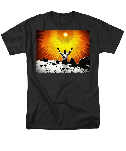 Men's T-Shirt  (Regular Fit) featuring the photograph A Place To Abandon Yourself by Glenn McCarthy Art and Photography