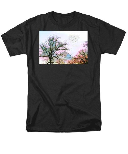 Men's T-Shirt  (Regular Fit) featuring the photograph A Poem And A Tree I by Carolina Liechtenstein