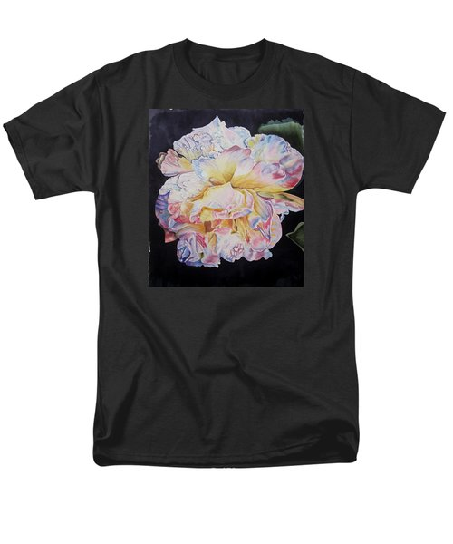 A Rose Men's T-Shirt  (Regular Fit) by Teresa Beyer