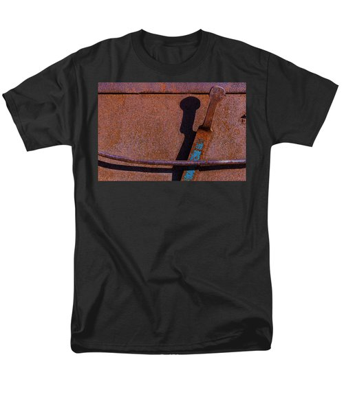 Men's T-Shirt  (Regular Fit) featuring the photograph A Rusted Development II by Paul Wear