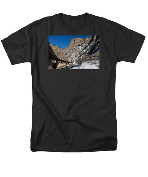 A Section Of The World-famous Glenwood Viaduct Men's T-Shirt  (Regular Fit) by Carol M Highsmith