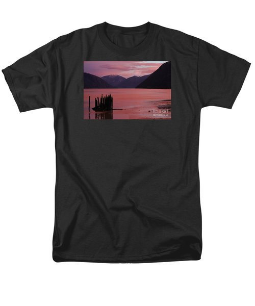 Men's T-Shirt  (Regular Fit) featuring the photograph A Sublime September Sunset by Stanza Widen