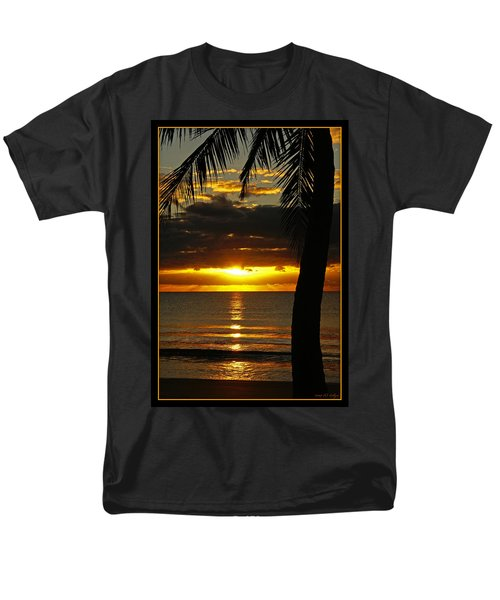A Touch Of Paradise Men's T-Shirt  (Regular Fit)
