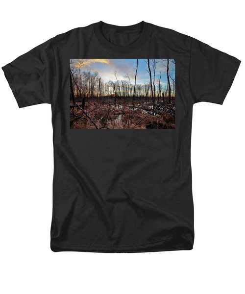 Men's T-Shirt  (Regular Fit) featuring the photograph A Wet Decay by Ryan Crouse