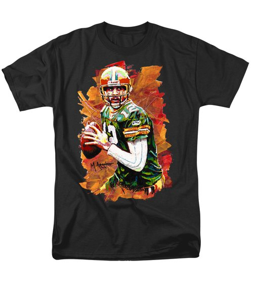 Aaron Rodgers Men's T-Shirt  (Regular Fit) by Maria Arango