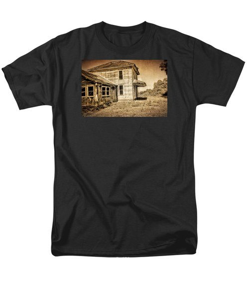 Abandoned House Men's T-Shirt  (Regular Fit) by Bonnie Bruno