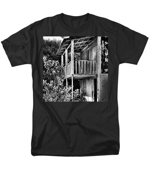 Abandoned, Kalamaki, Zakynthos Men's T-Shirt  (Regular Fit) by John Edwards