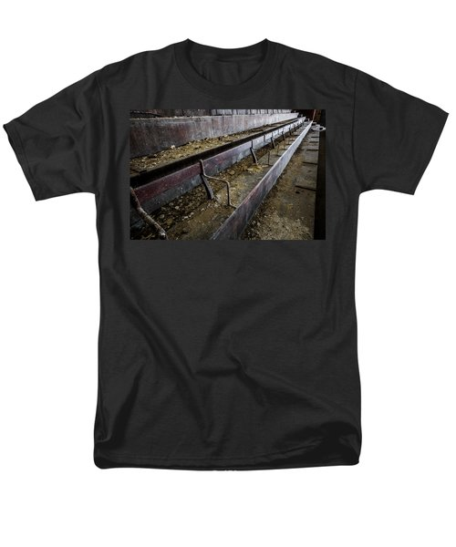 Abandoned Theatre Steps - Architectual Abstract Men's T-Shirt  (Regular Fit) by Dirk Ercken