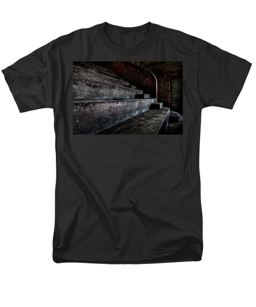 Abandoned Theatre Steps - Architectual Heritage Men's T-Shirt  (Regular Fit) by Dirk Ercken