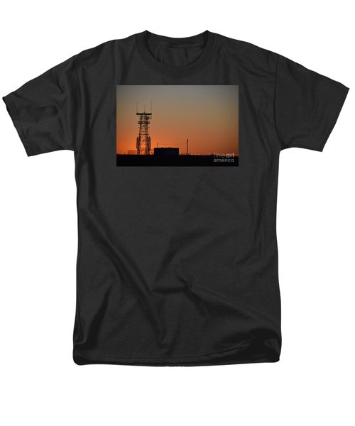Abandoned Tower Men's T-Shirt  (Regular Fit) by Mark McReynolds