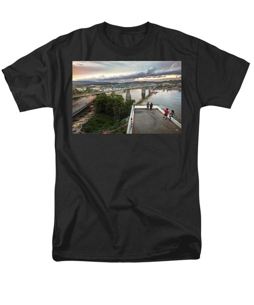 Above The Bluff, Musuem View Men's T-Shirt  (Regular Fit) by Steven Llorca