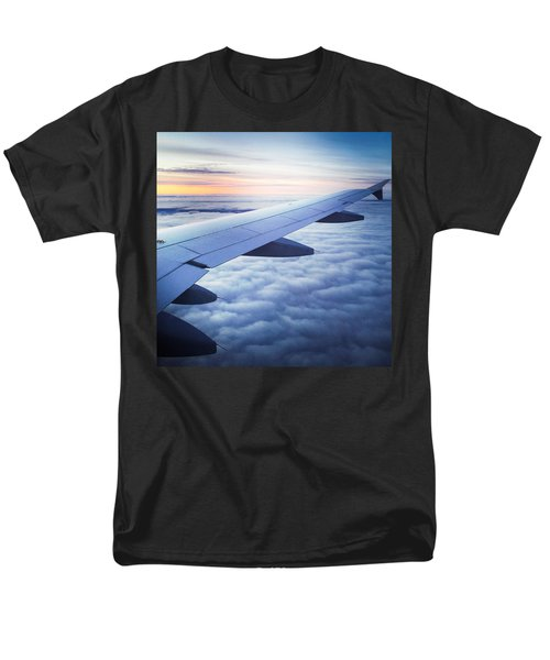 Above The Clouds 01 Men's T-Shirt  (Regular Fit) by Matthias Hauser