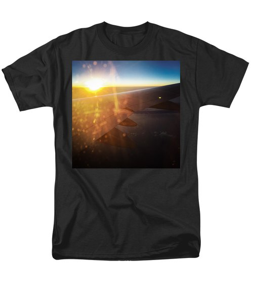 Above The Clouds 03 Warm Sunlight Men's T-Shirt  (Regular Fit) by Matthias Hauser