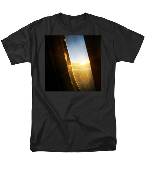 Above The Clouds 05 - Sun In The Window Men's T-Shirt  (Regular Fit) by Matthias Hauser