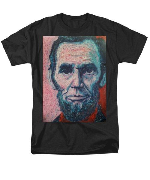 Abraham Lincoln Men's T-Shirt  (Regular Fit) by Regina WARRINER
