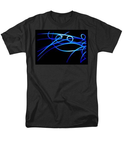 Abstract Energy Flow Men's T-Shirt  (Regular Fit) by Bruce Pritchett