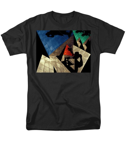 Men's T-Shirt  (Regular Fit) featuring the photograph Abstract Iterations by Wayne Sherriff