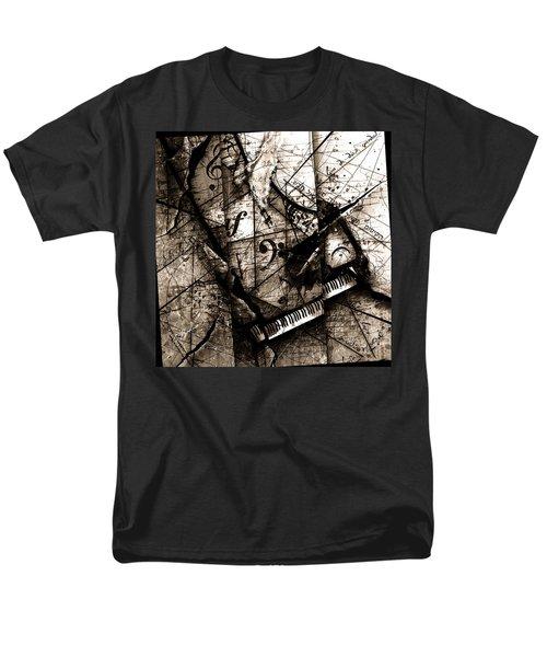Abstracta 27 The Grand Illusion  Men's T-Shirt  (Regular Fit) by Gary Bodnar