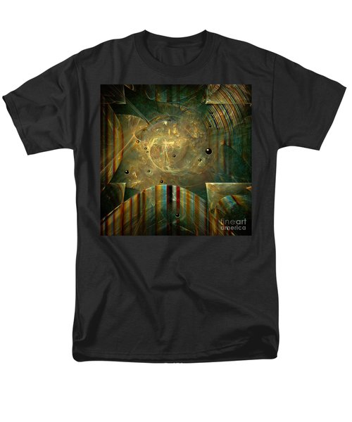 Men's T-Shirt  (Regular Fit) featuring the painting Abstractus by Alexa Szlavics