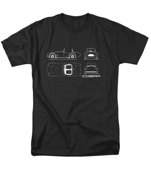 Ac Cobra Blueprint Men's T-Shirt  (Regular Fit) by Mark Rogan