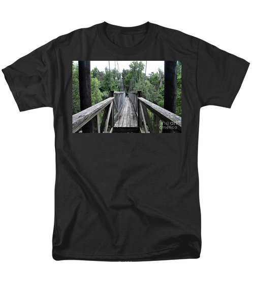 Men's T-Shirt  (Regular Fit) featuring the photograph Across The Great Divide by John Black