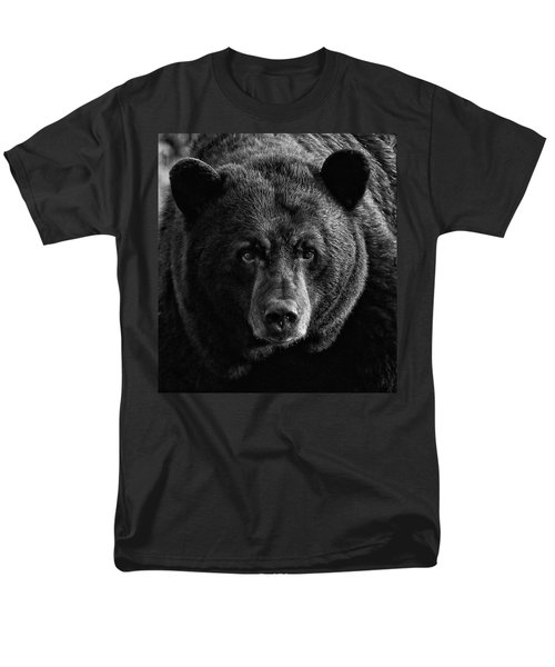Men's T-Shirt  (Regular Fit) featuring the photograph Adult Male Black Bear by Coby Cooper