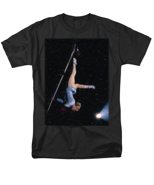 Aerial Acrobat Men's T-Shirt  (Regular Fit) by Jon Delorme