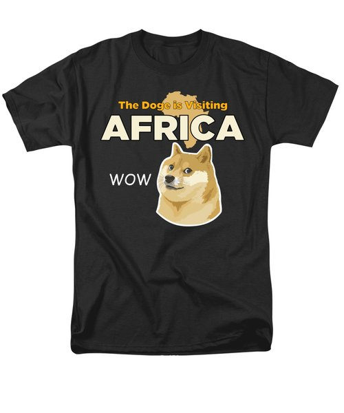 Africa Doge Men's T-Shirt  (Regular Fit) by Michael Jordan