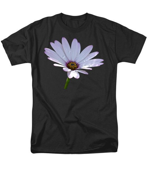 African Daisy Men's T-Shirt  (Regular Fit) by Scott Carruthers