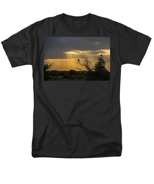 African Sunset 2 Men's T-Shirt  (Regular Fit) by Kathy Adams Clark
