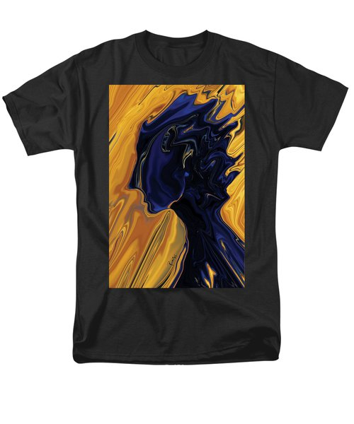 Men's T-Shirt  (Regular Fit) featuring the digital art Against The Wind by Rabi Khan
