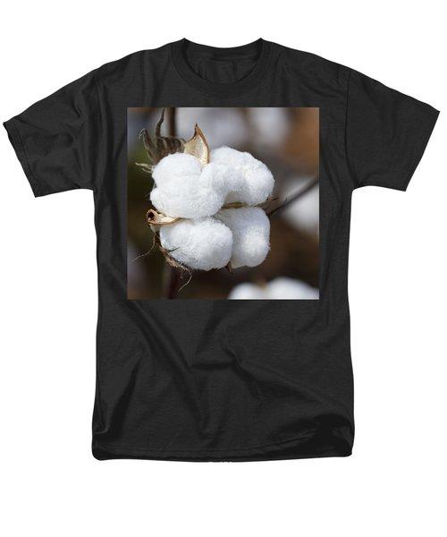 Alabama Cotton Boll Men's T-Shirt  (Regular Fit) by Kathy Clark