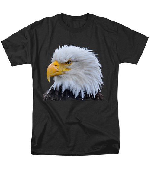 Men's T-Shirt  (Regular Fit) featuring the photograph Alaskan Bald Eagle by Diane E Berry
