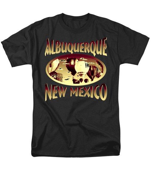 Albuquerque New Mexico Design Men's T-Shirt  (Regular Fit)