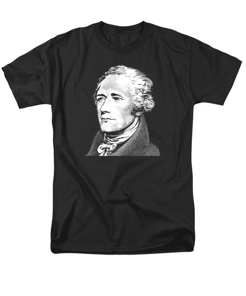 Alexander Hamilton - Founding Father Graphic  Men's T-Shirt  (Regular Fit) by War Is Hell Store