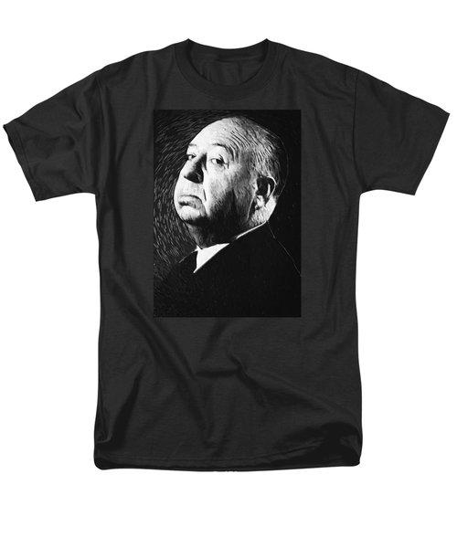 Alfred Hitchcock Men's T-Shirt  (Regular Fit) by Taylan Apukovska