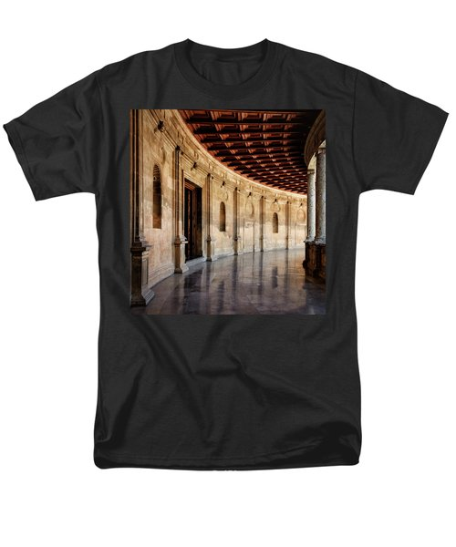 Alhambra Reflections Men's T-Shirt  (Regular Fit) by Marion McCristall