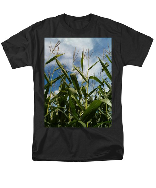 All About Corn Men's T-Shirt  (Regular Fit) by Sara  Raber