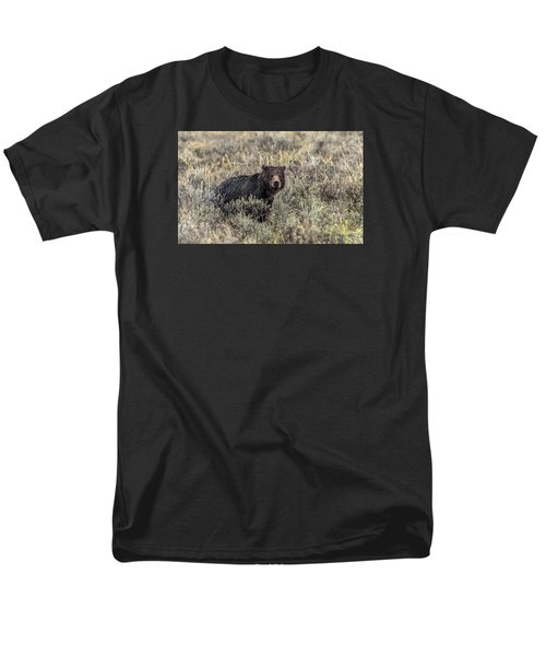 Men's T-Shirt  (Regular Fit) featuring the photograph All Alone by Yeates Photography