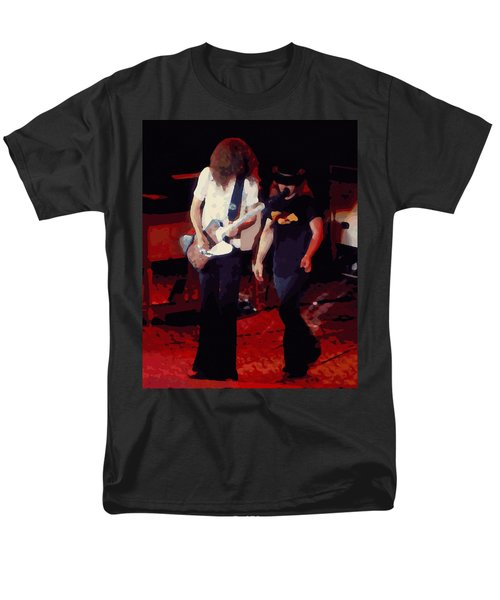 Men's T-Shirt  (Regular Fit) featuring the photograph Allen And Ronnie Winterland 1 by Ben Upham