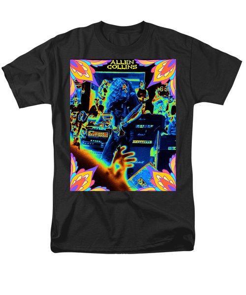 Men's T-Shirt  (Regular Fit) featuring the photograph Allen Cosmic Free Bird Oakland 2 by Ben Upham