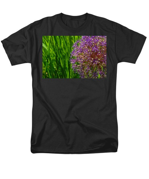 Allium Explosion Men's T-Shirt  (Regular Fit) by Tim Good