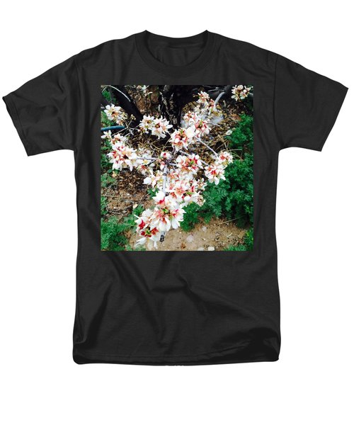 Men's T-Shirt  (Regular Fit) featuring the photograph Almond Blossoms by Erika Chamberlin