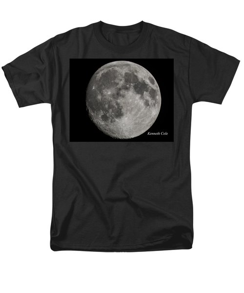 Almost Full Moon Men's T-Shirt  (Regular Fit) by Kenneth Cole