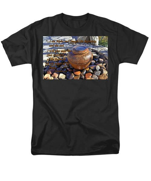 Men's T-Shirt  (Regular Fit) featuring the photograph Alpha And Omega by Larry Bishop