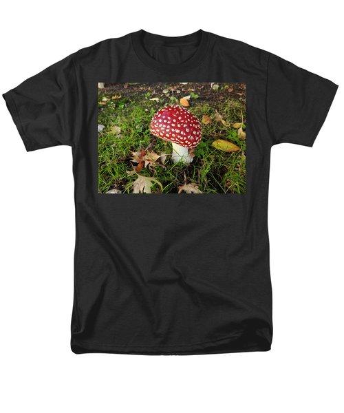 Amanita Mascara Men's T-Shirt  (Regular Fit) by Brian Chase