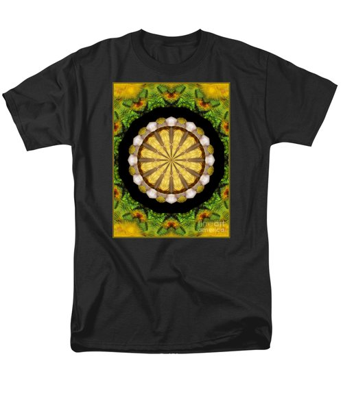 Men's T-Shirt  (Regular Fit) featuring the photograph Amazon Kaleidoscope by Debbie Stahre